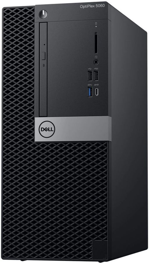 Компьютер  DELL Optiplex 5060,  Intel  Core i7  8700,  DDR4 8Гб, 1000Гб,  Intel UHD Graphics 630,  DVD-RW,  Windows 10 Professional,  черный [5060-7632]