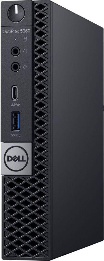 Компьютер  DELL Optiplex 5060,  Intel  Core i5  8500T,  DDR4 8Гб, 1000Гб,  Intel UHD Graphics 630,  Windows 10 Professional,  черный [5060-7670]