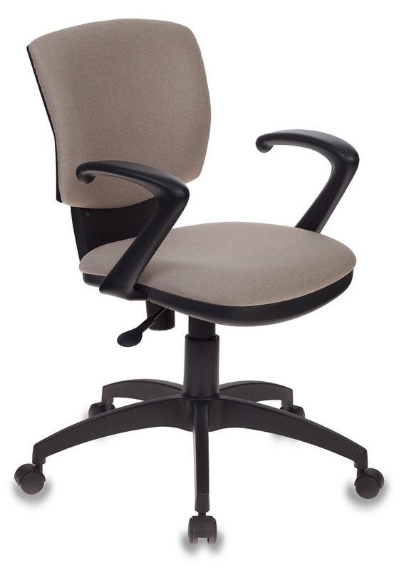 Кресло БЮРОКРАТ CH-636AXSN, на колесиках, ткань, бежевый [ch-636axsn/beige]
