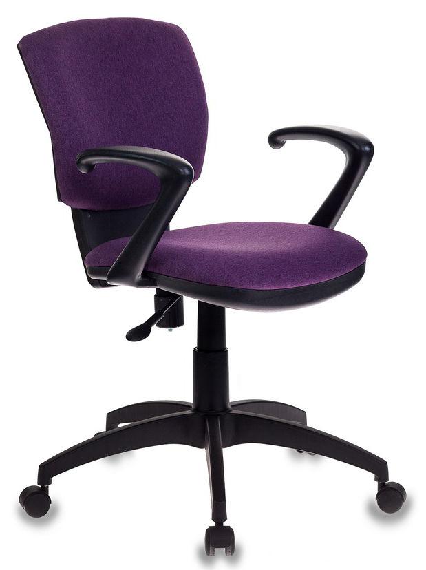 Кресло БЮРОКРАТ CH-636AXSN, на колесиках, ткань, фиолетовый [ch-636axsn/violet]