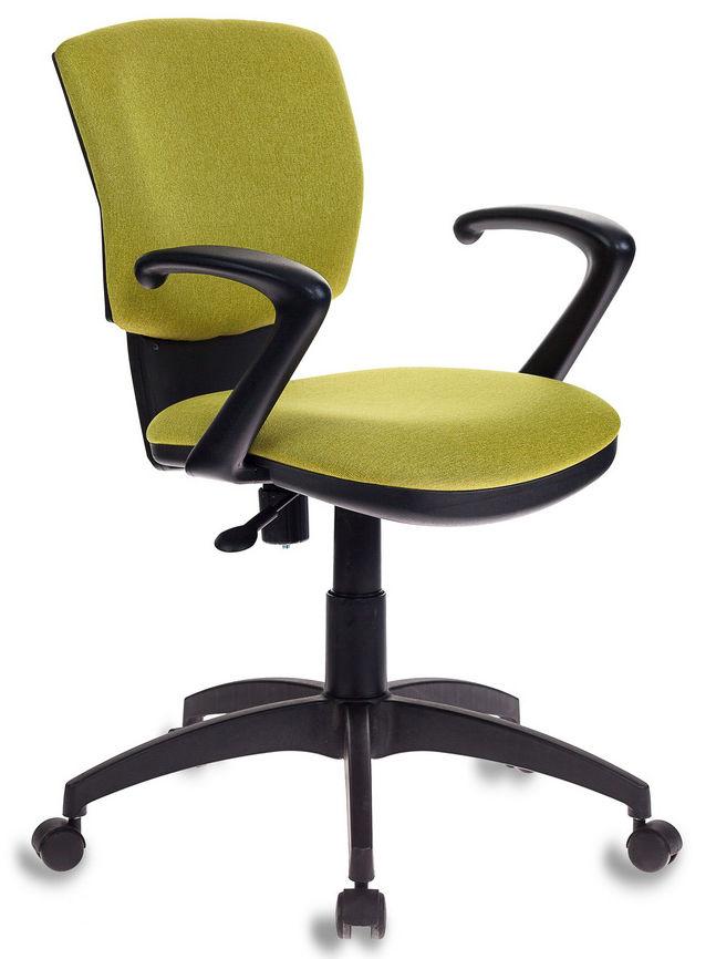Кресло БЮРОКРАТ CH-636AXSN, на колесиках, ткань, зеленый [ch-636axsn/green]