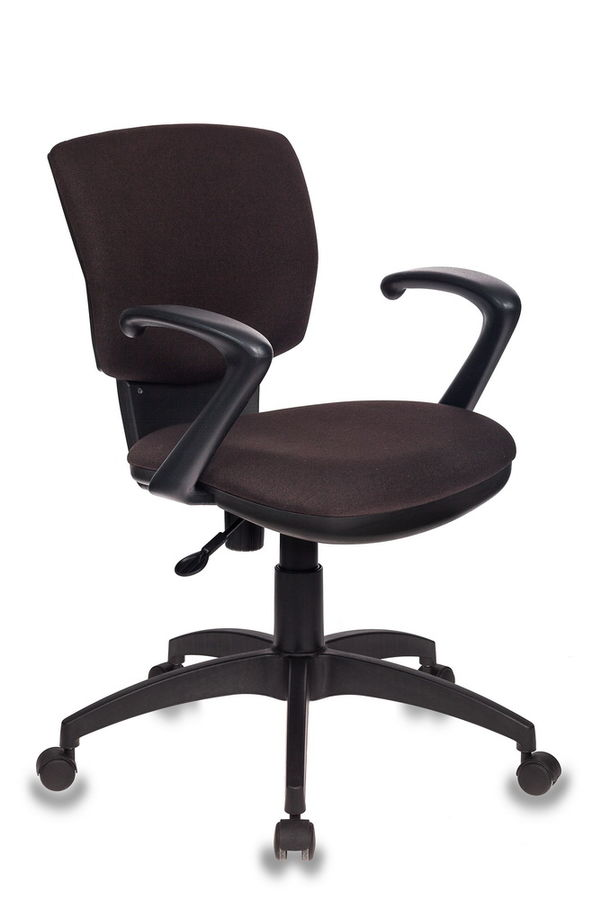 Кресло БЮРОКРАТ CH-636AXSN, на колесиках, ткань, темно-коричневый [ch-636axsn/brown]