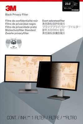 """Экран защиты информации 3M PF230W9B для монитора 23"""", 16:9, черный [7000021450]"""
