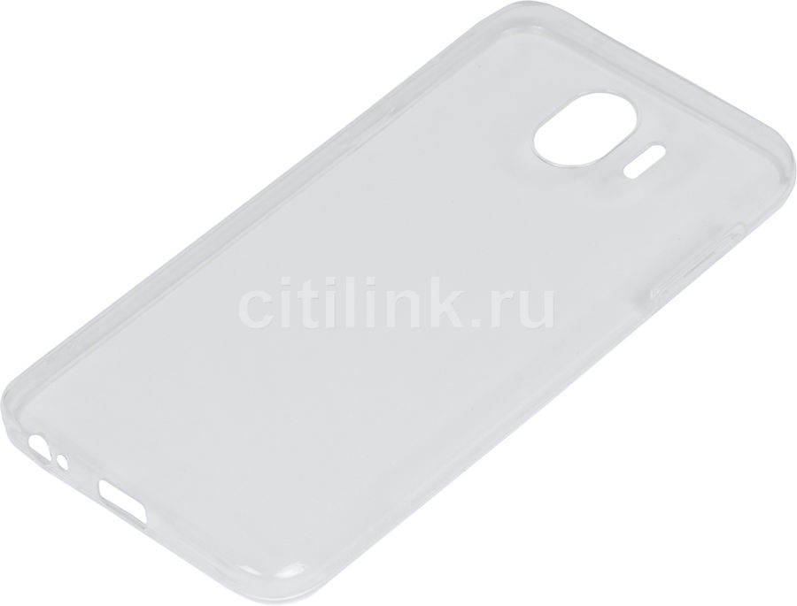 Чехол (клип-кейс) DF sCase-62, для Samsung Galaxy J4 (2018), прозрачный