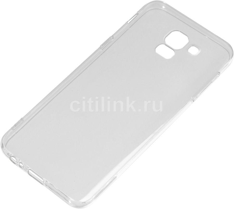 Чехол (клип-кейс) DF sCase-63, для Samsung Galaxy J6 (2018), прозрачный