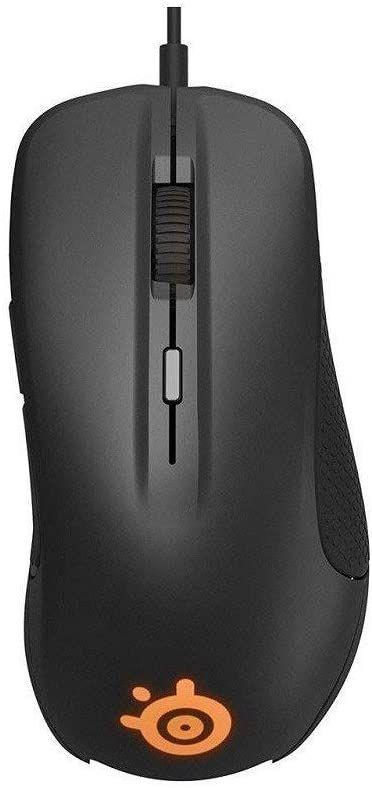 Мышь STEELSERIES Rival 300S, игровая, оптическая, проводная, USB, черный [62488]