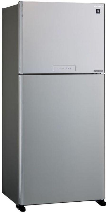 Холодильник SHARP SJ-XG55PMSL,  двухкамерный, серебристый