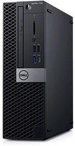 Компьютер  DELL Optiplex 7060,  Intel  Core i7  8700,  DDR4 8Гб, 1000Гб,  Intel UHD Graphics 630,  DVD-RW,  Windows 10 Professional,  черный и серебристый [7060-7717]