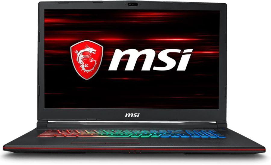 """Ноутбук MSI GP73 8RE(Leopard)-470RU, 17.3"""",  Intel  Core i7  8750H 2.2ГГц, 16Гб, 1000Гб,  nVidia GeForce  GTX 1060 - 6144 Мб, Windows 10, 9S7-17C522-470,  черный"""