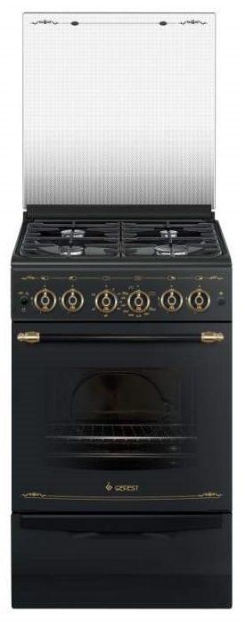 Газовая плита GEFEST ПГ 5100-02 0183,  газовая духовка,  черный