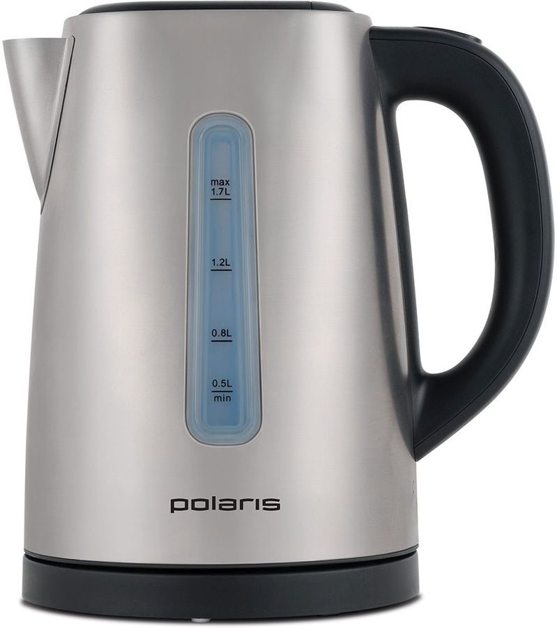 Чайник электрический POLARIS PWK 1732CA, 2150Вт, серебристый