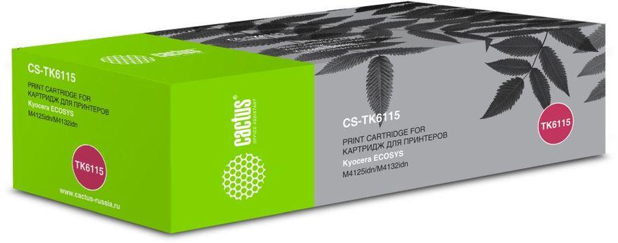 Картридж CACTUS CS-TK6115, черный