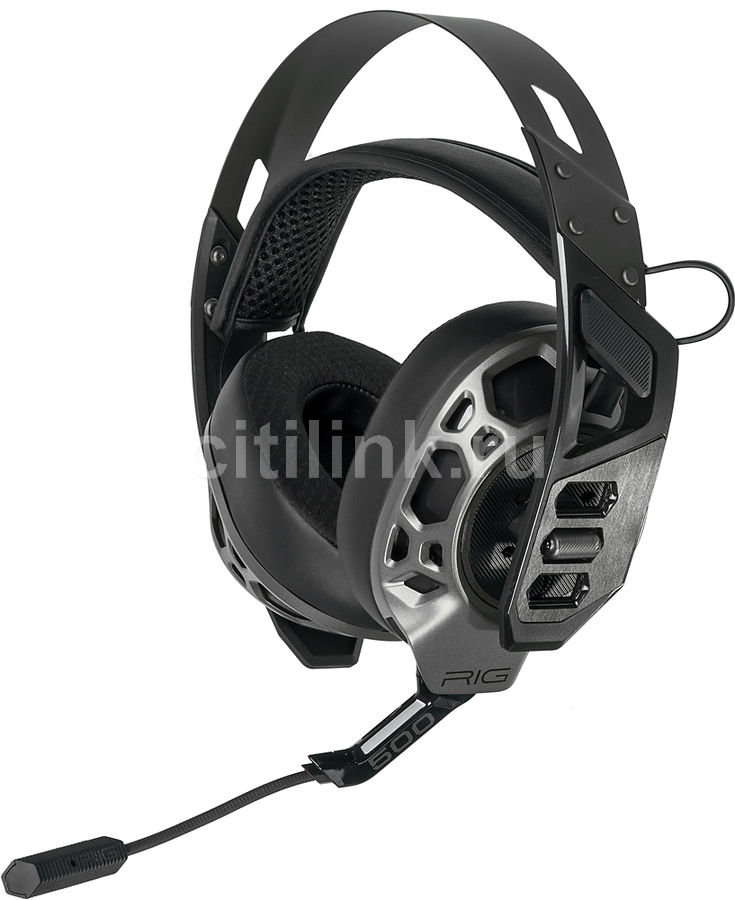 Гарнитура игровая PLANTRONICS RIG 500 PRO E,  черный  / серый