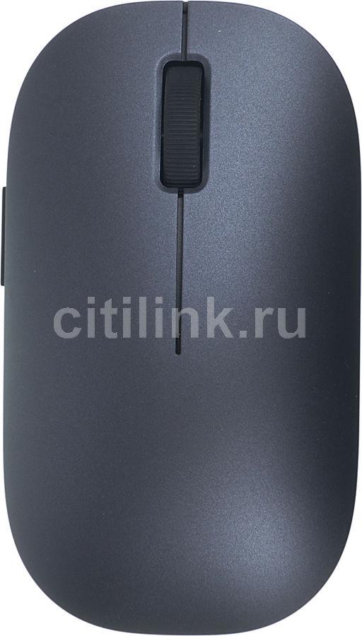 Мышь XIAOMI Mi Wireless Mouse оптическая беспроводная USB, черный [hlk4012gl]