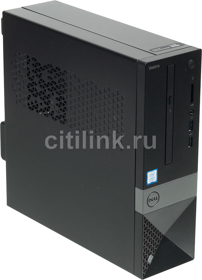 Компьютер  DELL Vostro 3470,  Intel  Core i3  8100,  DDR4 4Гб, 128Гб(SSD),  Intel UHD Graphics 630,  DVD-RW,  CR,  Windows 10 Home,  черный [3470-6498]