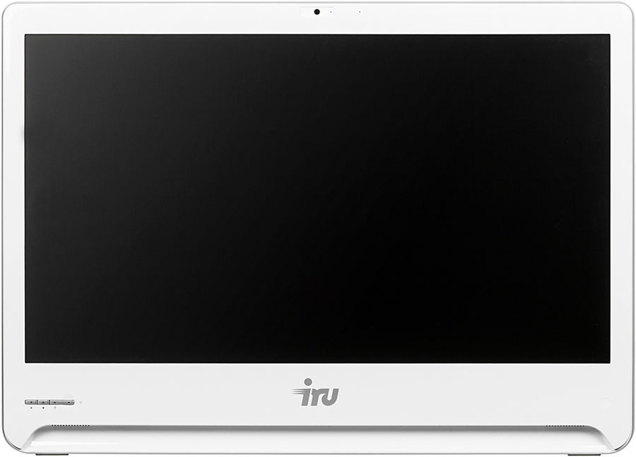 "Моноблок IRU Office S2302, 23.6"", Intel Core i3 5005U, 8Гб, 120Гб SSD,  Intel HD Graphics 5500, DVD-RW, Windows 10 Professional, белый [1072085]"