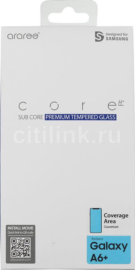 Защитное стекло для экрана SAMSUNG Whitestone Dome  для Samsung Galaxy A6+ 2018,  прозрачная, 1 шт [gp-a605kdeeaia]