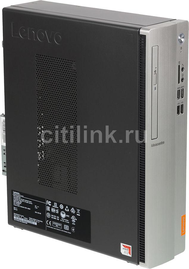 Компьютер  LENOVO IdeaCentre 310S-08ASR,  AMD  A9  9425,  DDR4 8Гб, 1000Гб,  AMD Radeon R5,  DVD-RW,  CR,  Free DOS,  черный и серебристый [90g9006jrs]