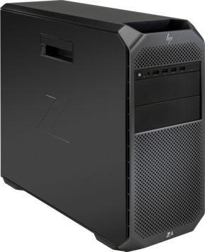 Рабочая станция  HP Z4 G4,  Intel  Xeon  W-2123,  DDR4 16Гб, 256Гб(SSD),  DVD-RW,  Windows 10 Professional,  черный [3mb70ea]