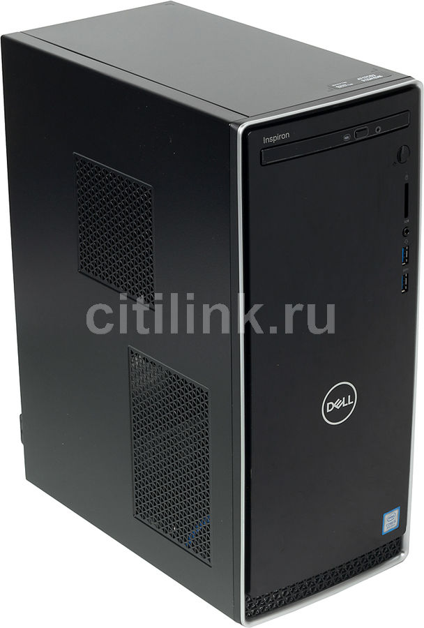 Компьютер  DELL Inspiron 3670,  Intel  Core i5  8400,  DDR4 8Гб, 1000Гб,  NVIDIA GeForce GTX 1050 - 2048 Мб,  DVD-RW,  Windows 10 Home,  черный [3670-6597]