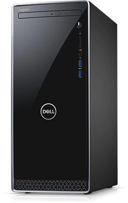 Компьютер  DELL Inspiron 3670,  Intel  Core i7  8700,  DDR4 8Гб, 1000Гб,  128Гб(SSD),  NVIDIA GeForce GTX 1050Ti - 4096 Мб,  DVD-RW,  Windows 10 Home,  черный [3670-6610]