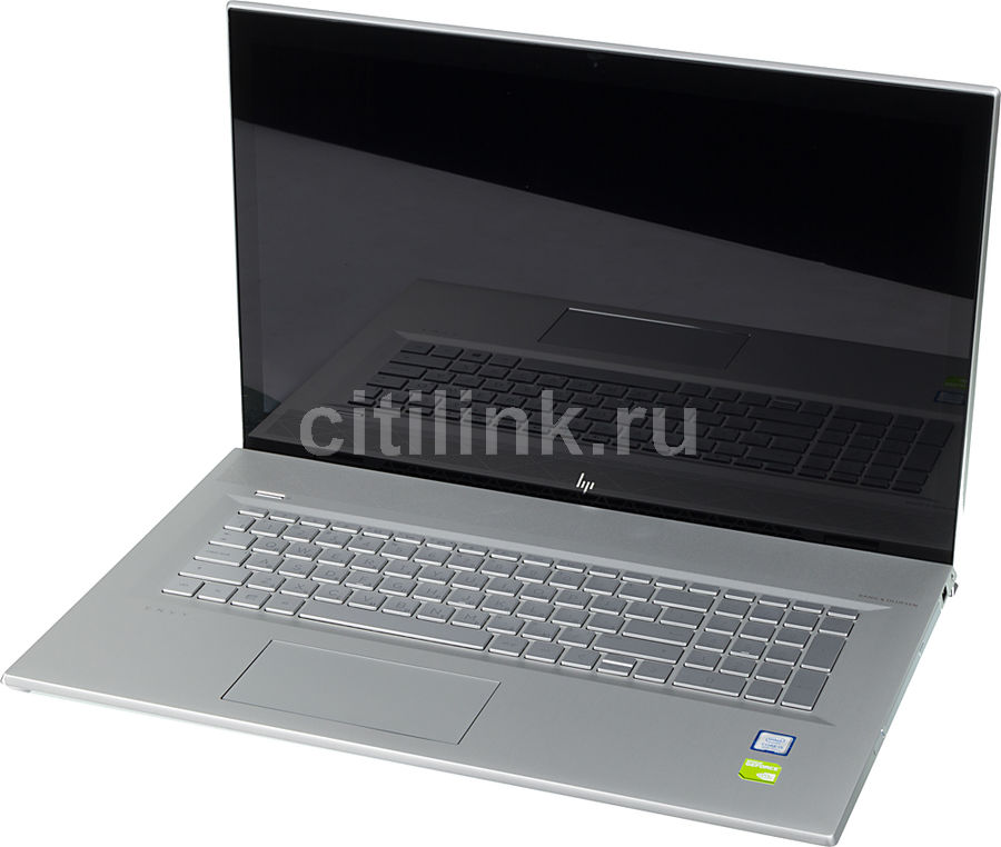"Ноутбук HP Envy 17-bw0001ur, 17.3"",  IPS, Intel  Core i5  8250U 1.6ГГц, 8Гб, 16Гб Intel Optane,  1000Гб,  nVidia GeForce  Mx150 - 2048 Мб, DVD-RW, Windows 10, 4HD46EA,  серебристый"