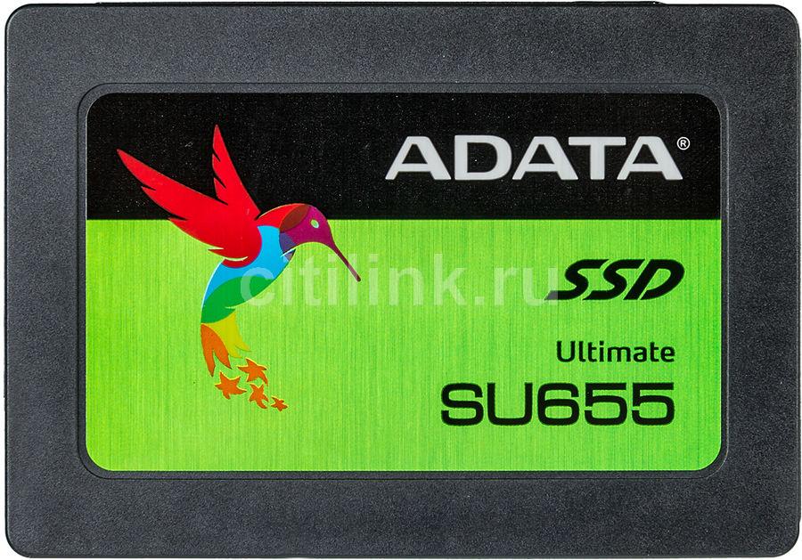"SSD накопитель A-DATA Ultimate SU655 ASU655SS-480GT-C 480Гб, 2.5"", SATA III"