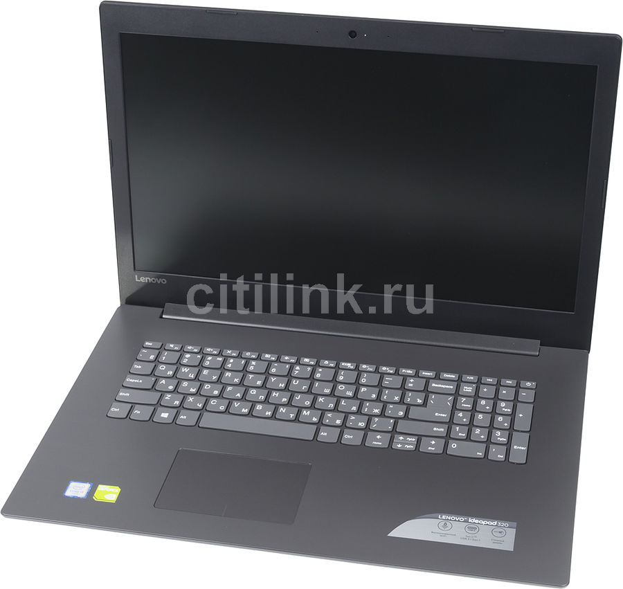 Ноутбук LENOVO IdeaPad 320-17ISK, 17.3, Intel Core i3 6006U 2.0ГГц, 4Гб, 500Гб, nVidia GeForce 920MX - 2048 Мб, Free DOS, 80XJ004DRU, черный ноутбук lenovo ideapad 320 15isk 15 6 intel core i3 6006u 2 0ггц 4гб 500гб nvidia geforce 920mx 2048 мб free dos 80xh01ehrk черный