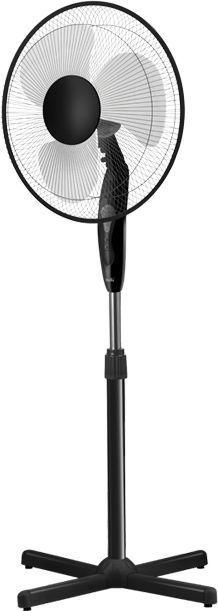 Вентилятор напольный BALLU BFF-855,  черный [нс-1155716]