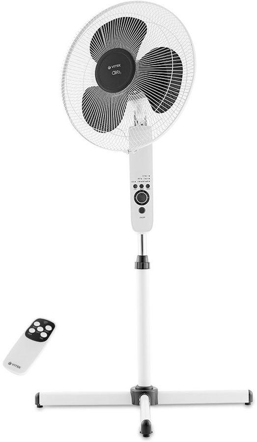 Вентилятор напольный VITEK VT-1949 W,  белый [1949-vt-02]