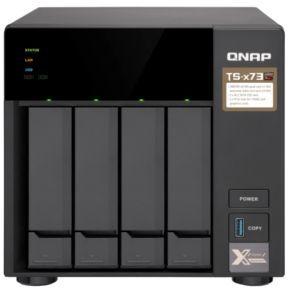 Сетевое хранилище QNAP TS-473-4G,  без дисков