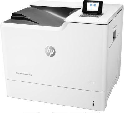 Принтер лазерный HP Color LaserJet Enterprise M652dn лазерный, цвет:  белый [j7z99a]