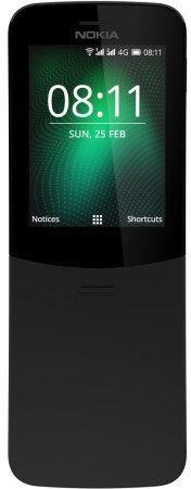 Мобильный телефон NOKIA 8110 Dual Sim,  черный