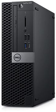 Компьютер  DELL Optiplex 5060,  Intel  Core i5  8500,  DDR4 8Гб, 256Гб(SSD),  Intel UHD Graphics 630,  DVD-RW,  Linux,  черный [5060-7656]