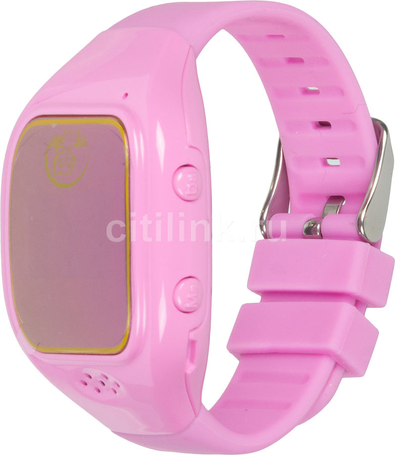 "Смарт-часы GINZZU GZ-511,  0.66"",  розовый / розовый [00-00001161]"