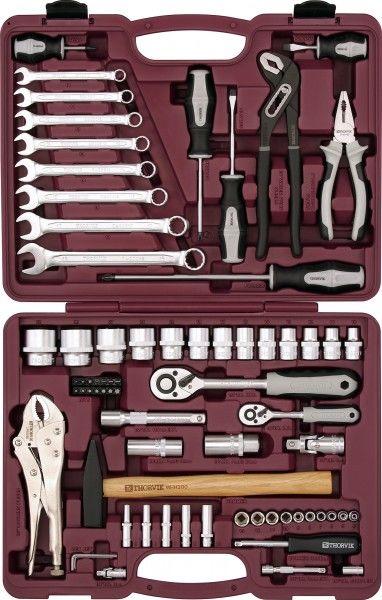 Набор инструментов THORVIK UTS0072,  72 предмета [52059]