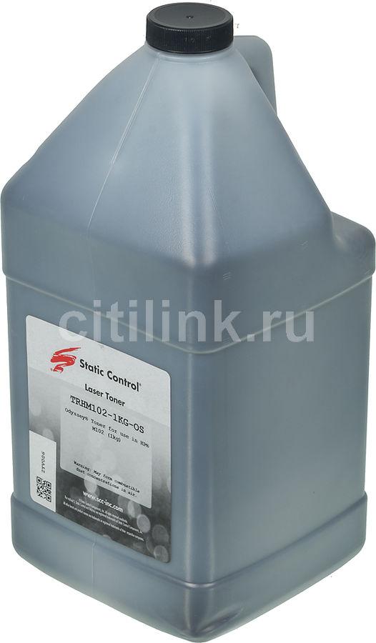 Тонер STATIC CONTROL TRHM102-1KG-OS,  для HP LJ M104/M132,  черный, 1000грамм, флакон