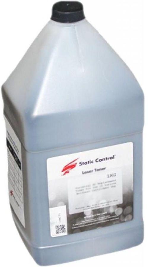 Тонер STATIC CONTROL TRHM203-1KG-OS,  для HP LJ 203/227,  черный, 1000грамм, флакон