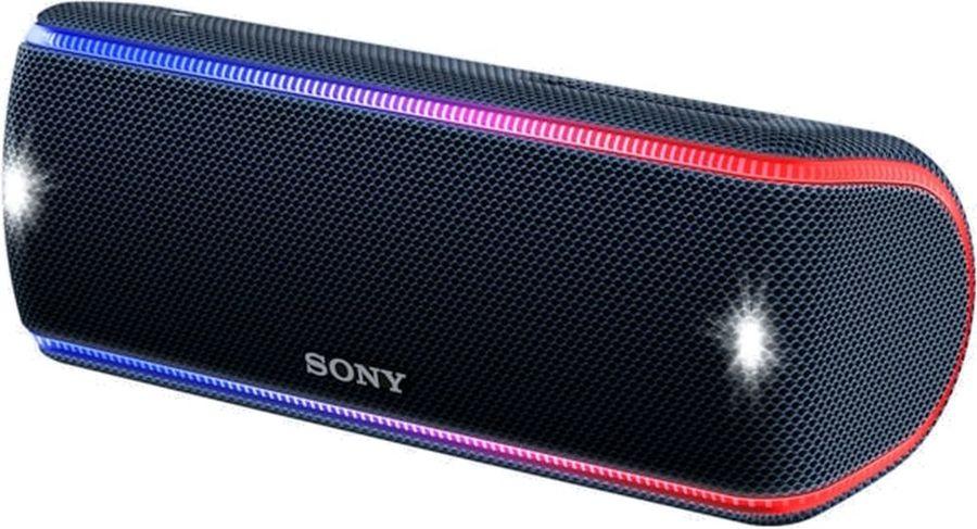 Портативная колонка SONY SRS-XB31,  30Вт, черный  [srsxb31b.ru2]