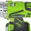 Дрель-шуруповерт GREENWORKS 3802407,  2Ач,  с двумя аккумуляторами вид 4