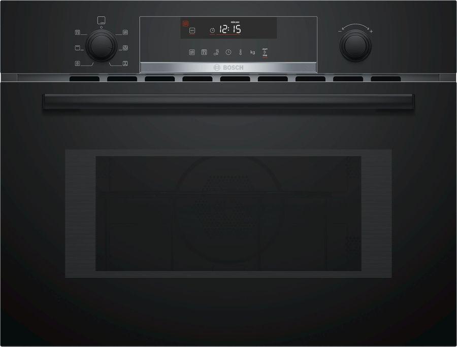 Микроволновая Печь Bosch CMA585MB0 44л. 900Вт черный (встраиваемая)
