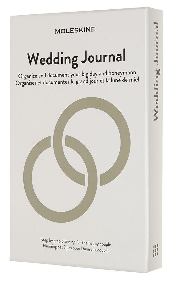Блокнот Moleskine PASSION Wedding Large 130х210мм 400стр. подар.кор. светло-серый