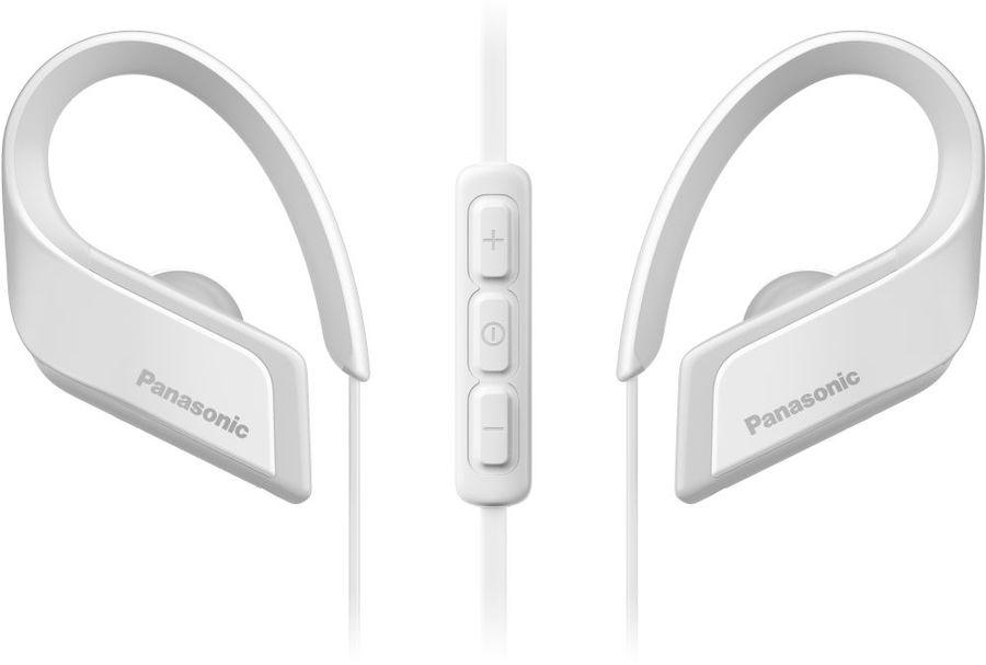 Наушники с микрофоном PANASONIC RP-BTS35GC, Bluetooth, вкладыши, белый [rp-bts35gc-w]