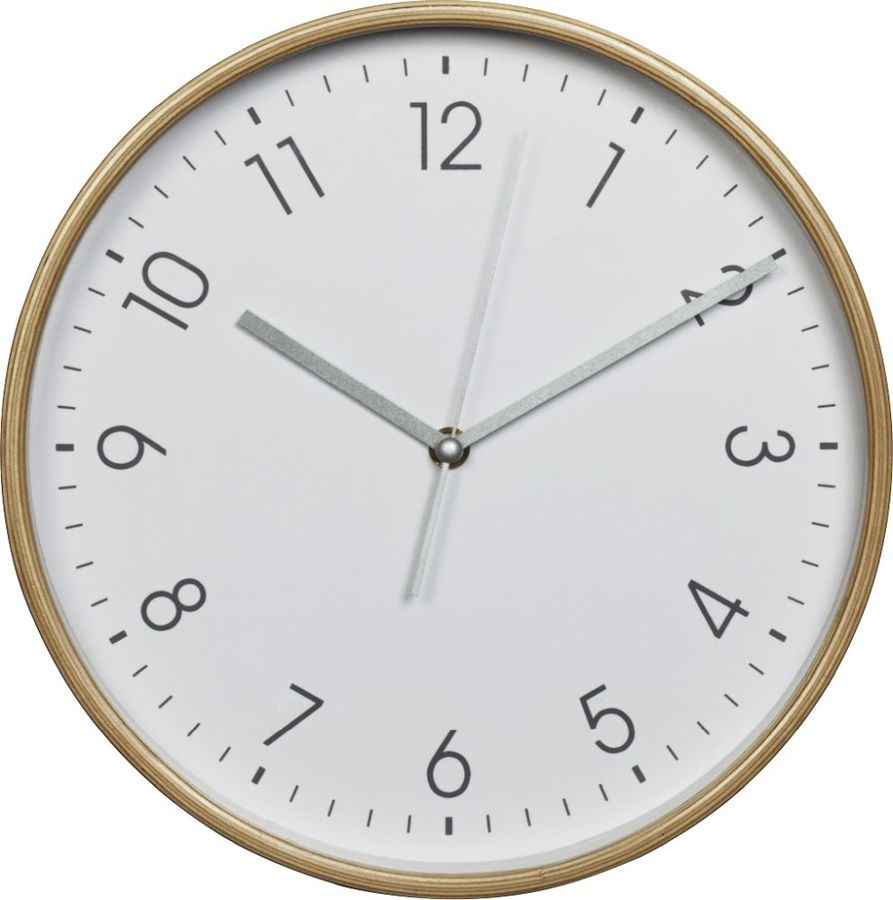 Настенные часы HAMA HG-320, аналоговые,  белый