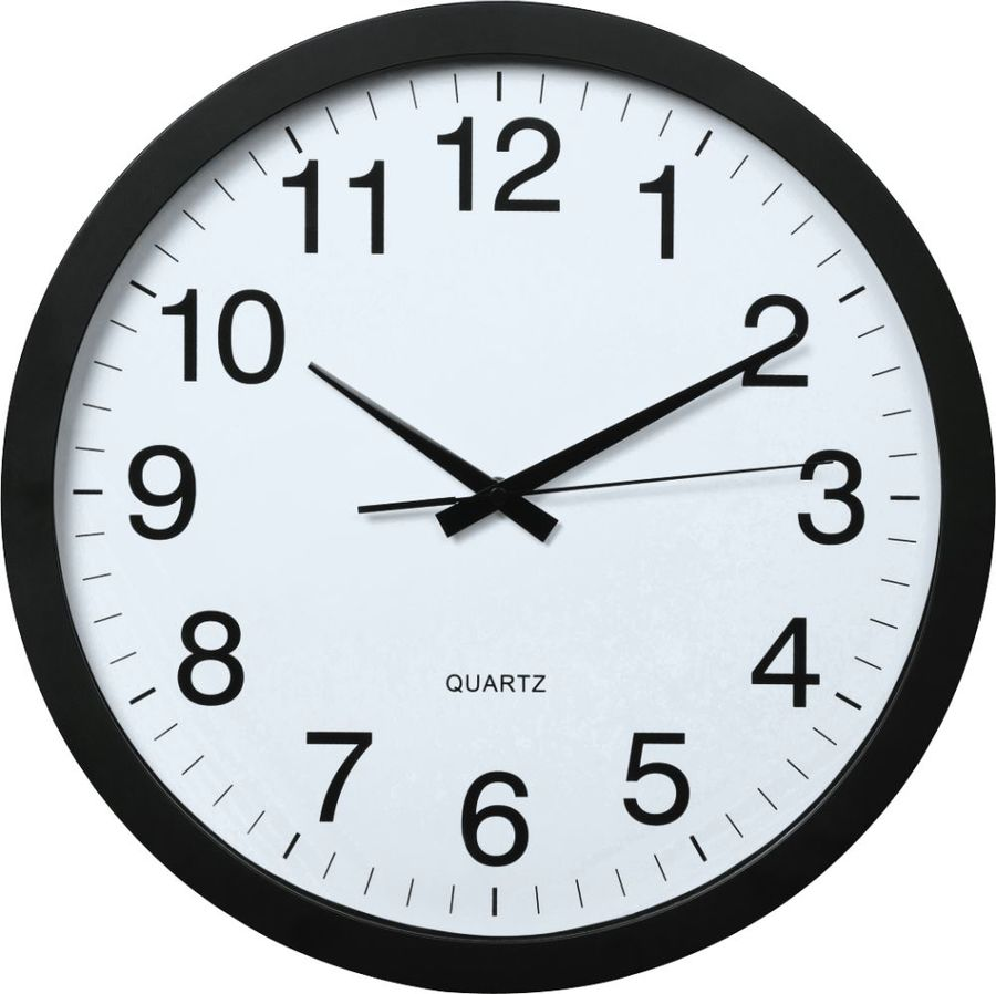 Настенные часы HAMA PG-400 Jumbo, аналоговые,  белый