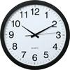 Настенные часы HAMA PG-400 Jumbo, аналоговые,  белый вид 1