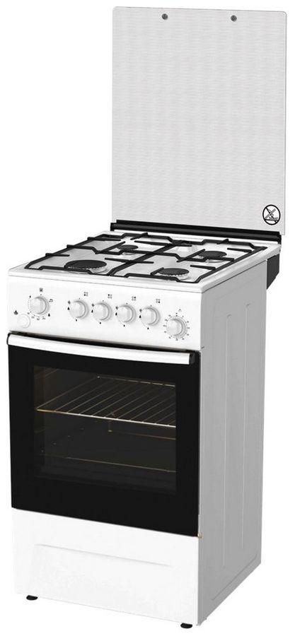Газовая плита DARINA F 3009 W,  газовая духовка,  белый [000056810]