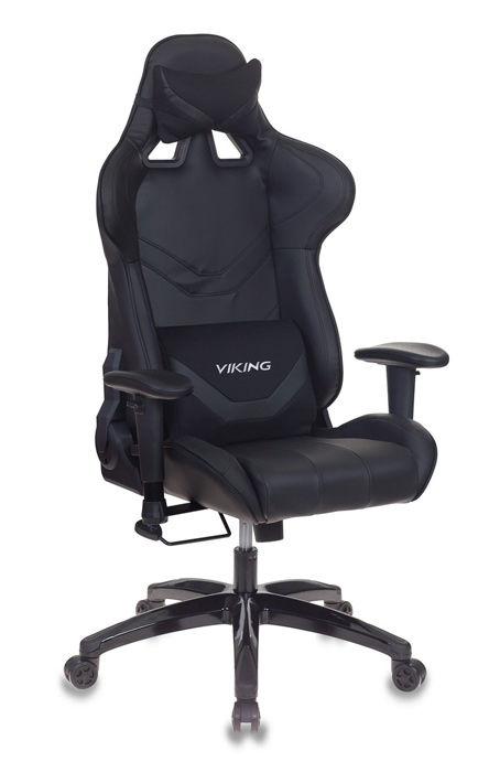 Кресло игровое БЮРОКРАТ CH-772N, на колесиках, искусственная кожа [ch-772n/black]