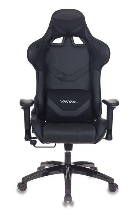 Кресло игровое БЮРОКРАТ CH-772N, на колесиках, искусственная кожа, черный [ch-772n/black]