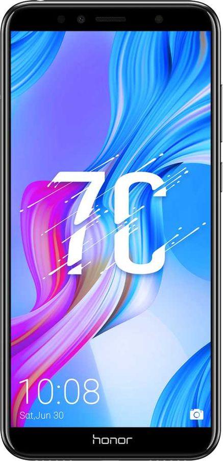 Смартфон HONOR 7С 32Gb,  черный